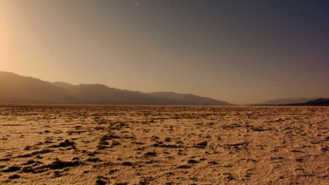 dry lake bed - wide shot stock videos & royalty-free footage