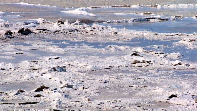 WS PAN Dry salt lake of  Barren environment /  ARIZONA,United States