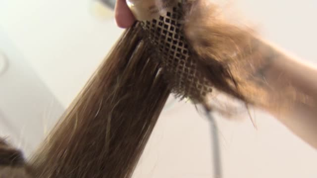 drying hair - tumble dryer stock videos & royalty-free footage
