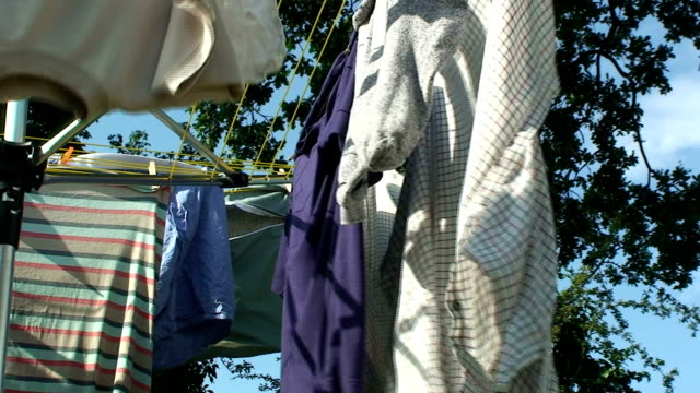 drying - clothes peg stock videos & royalty-free footage