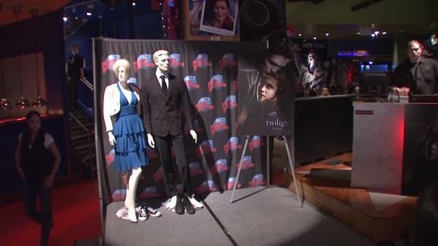 Dual Memorabilia at the Robert Pattinson Handprint and Memorabilia Donation at Planet Hollywood at New York NY