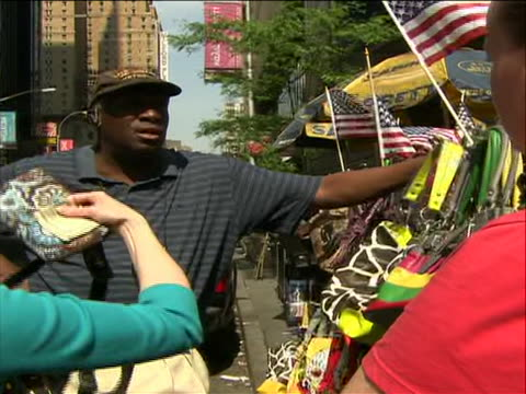 duane jackson who is one of the street vendors who contacted the police officer wayne rhatigan in order to thwart the times square bomb plot duane... - crime or recreational drug or prison or legal trial stock videos & royalty-free footage