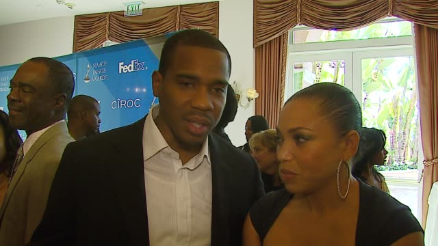 Duane Martin and Tisha Campbell on the event being nominated for an NAACP award NAACP recognition and the responsibility that comes with being actors...