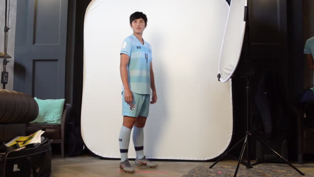 Duangnapa Sritala at FIFA Women's World Cup France 2019 Team Portrait Session on June 08 2019 in Reims