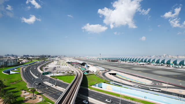 t/l dubai airport terminal.timelapse. - middle east stock videos & royalty-free footage