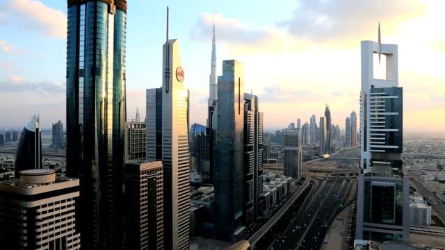 Dubai Arabian Gulf Sheikh Zayed Road Burj Kalifa