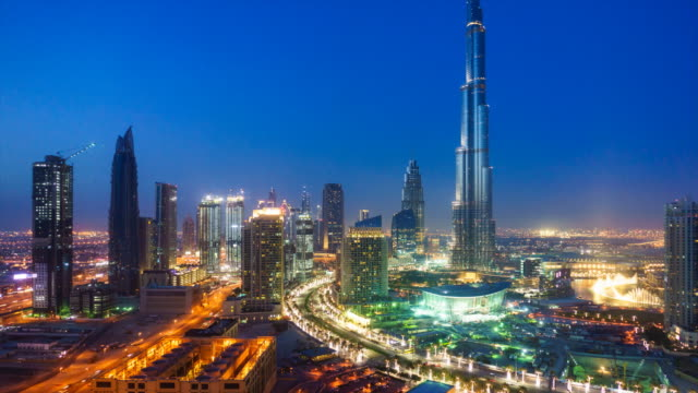 Dubai cityscape and Burj Khalifa