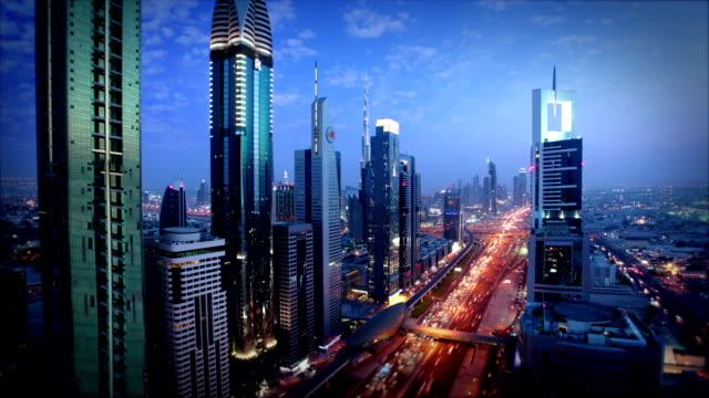 L'horizon de Dubaï