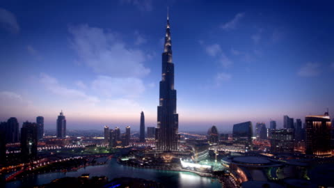 vidéos et rushes de l'horizon de dubaï - horizon urbain
