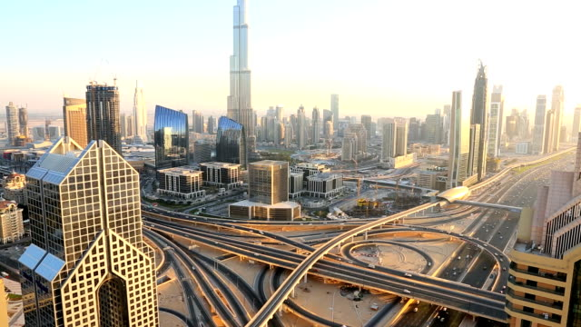 dubai uae middle east arabian gulf sheikh zayed road - underground rail stock videos & royalty-free footage