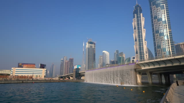 Dubai Water Canal and bridge, Dubai