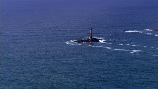 dubh artach lighthouse - remote location bildbanksvideor och videomaterial från bakom kulisserna