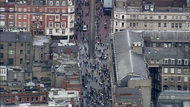Dublin  - Aerial View - helicopter filming,  aerial video,  cineflex,  establishing shot,  Ireland