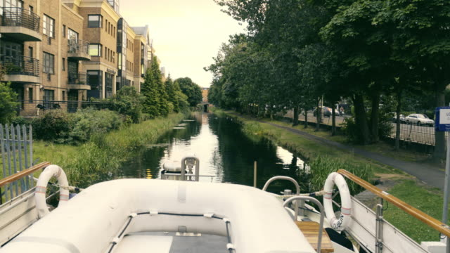 dublin canal - canal stock videos & royalty-free footage