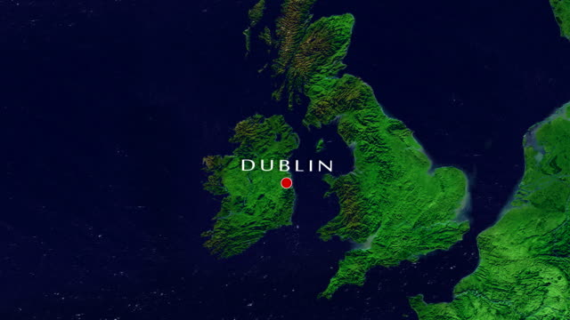 dublin zoom in - zoom in stock videos & royalty-free footage