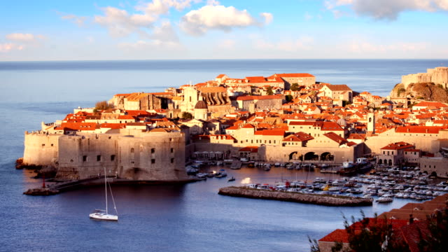 Altstadt von Dubrovnik Timelapse