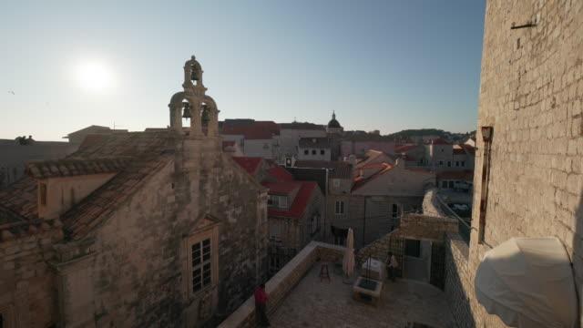 dubrovnik old town walls - croatia stock videos & royalty-free footage