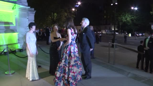 duchess of cambridge attends 100 women in hedge funds' gala dinner england london victoria and albert museum throughout** catherine duchess of... - gala stock videos and b-roll footage