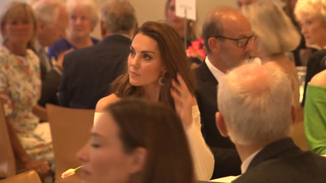 duchess of cambridge attends action on addiction gala dinner england london somerset house photography** catherine duchess of cambridge along and... - gala stock videos and b-roll footage