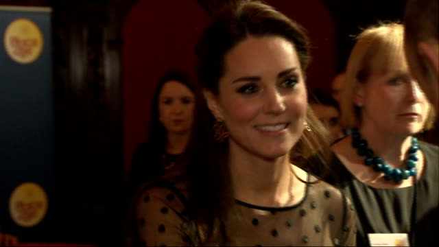 Duchess of Cambridge attends Place2Be awards ENGLAND London Kensington Palace PHOTOGRAPHY** Catherine Duchess of Cambridge arriving and meeting...
