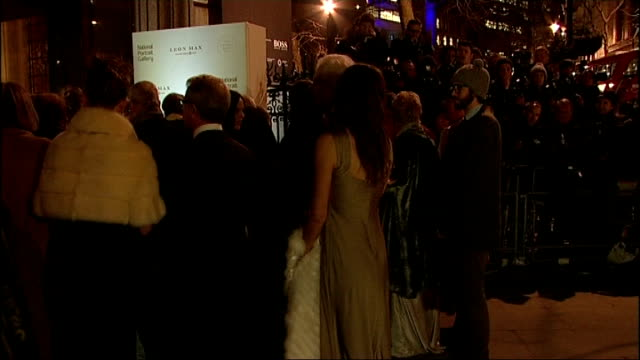 duchess of cambridge attends the portrait gala 2014 arrivals england london national portrait gallery photography *** elizabeth hurley arriving and... - wrap dress stock videos and b-roll footage