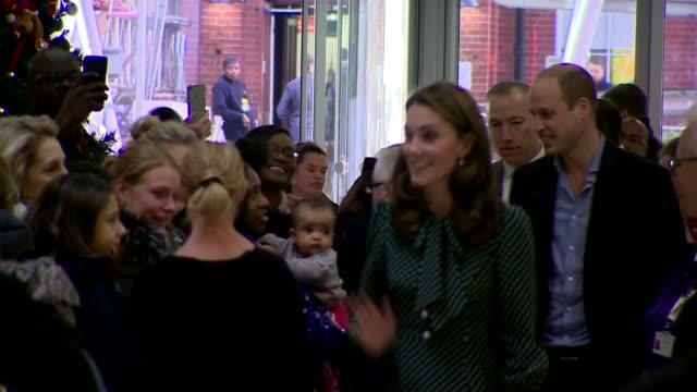 Duchess of Cambridge becomes patron of Evelina London Children's Hospital ENGLAND London Lambeth St Thomas' Hospital EXT Prince William Duke of...