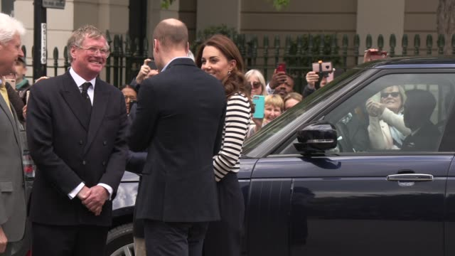 GBR: The Duke and Duchess of Cambridge launch the King's Cup Regatta