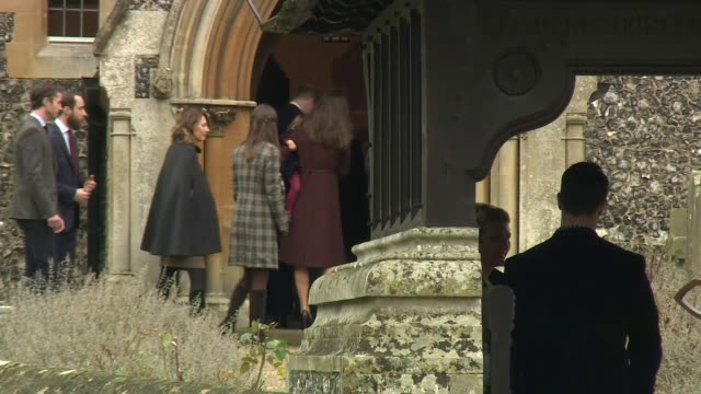duchess of cambridge gives birth to baby boy lib / englefield ext **pollard live studio interview overlaid sot** prince william duke of cambridge... - charlotte stock-videos und b-roll-filmmaterial