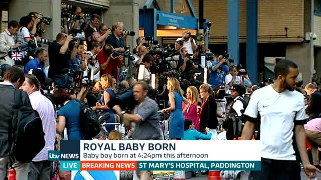 itv news special pab 2030 2156 england london gir int mary nightingale studio introduction paddington st mary's hospital photography** press and... - メアリー ナイチンゲール点の映像素材/bロール