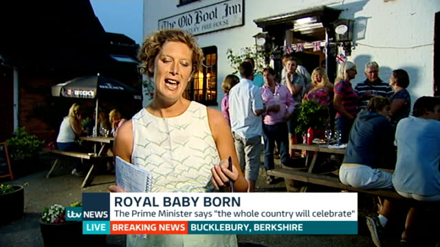 ITV News Special PAB Pollard interview SOT Mary Nightingale to camera London / Berkshire Bucklebury Mary Nightingale to camera / Emily Morgan...