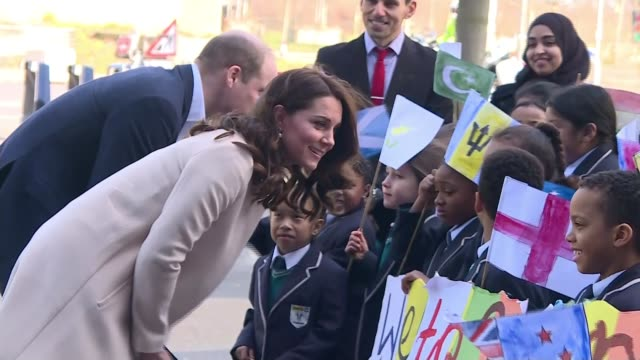 duchess of cambridge makes final public appearance before birth of her third child england london stratford olympic park copper box arena ext... - wheelchair basketball stock videos and b-roll footage