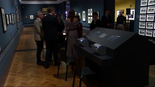 duchess of cambridge opens new va photography centre england london south kensington victoria albert museum int catherine duchess of cambridge... - victoria and albert museum london stock videos & royalty-free footage