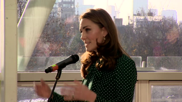 Duchess of Cambridge speech at visit to Evelina London Children's Hospital