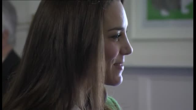 duchess of cambridge visits east anglia's children's hospice; duchess of cambridge visits east anglia's children's hospice; england: norfolk:... - east anglia stock-videos und b-roll-filmmaterial