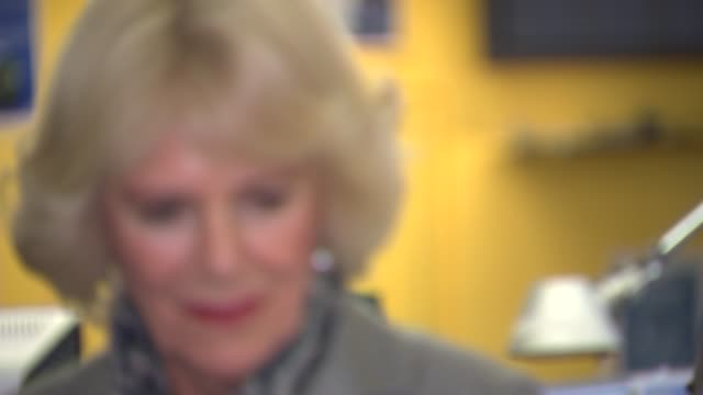 Duchess of Cornwall visits New Scotland Yard Duchess of Cornwall meeting various police officers and members of the Metropolitan Police staff /...