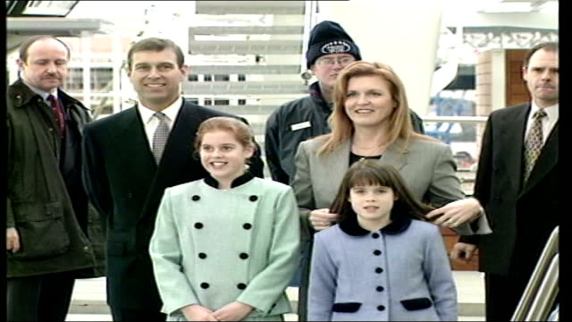 Letter of complaint LIB ENGLAND London Duke and Duchess of York and Princess Beatrice and Princess Eugenie pose for photocall before boarding the...