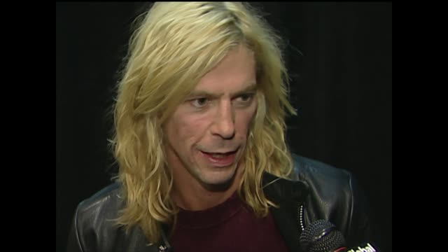 duff mckagan on making music videos - stage set stock videos & royalty-free footage