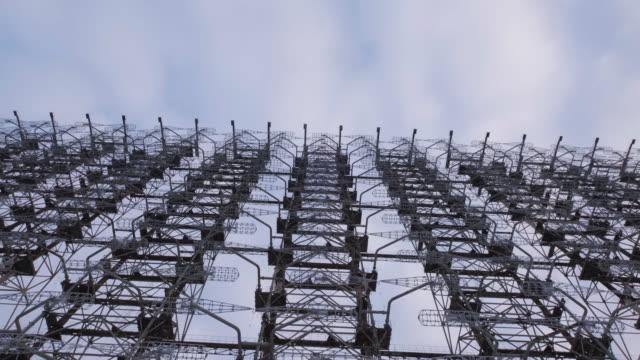 duga radar system - former soviet union stock videos & royalty-free footage