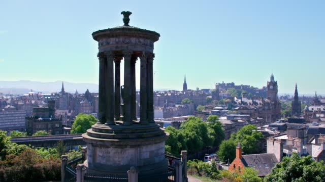 Dugald Stewart Monument, Calton Hill, Edinburgh, Scotland