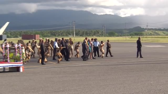 Duke and Duchess of Cambridge arrive at the Solomon Islands as part of their Diamond Jubilee tour of southeast Asia and the South Pacific people...