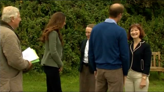 Duke and Duchess of Cambridge at Ring of Fire ultra marathon WALES Anglesey EXT Prince William Duke of Cambridge and Catherine Duchess of Cambridge...
