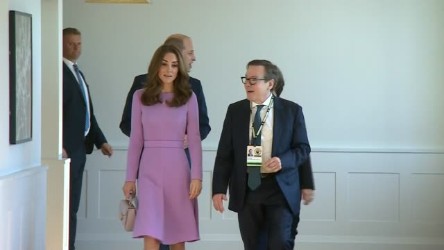 duke and duchess of cambridge attend global mental health summit uk london prince william duke of cambridge and catherine duchess of cambridge... - 首脳会議点の映像素材/bロール