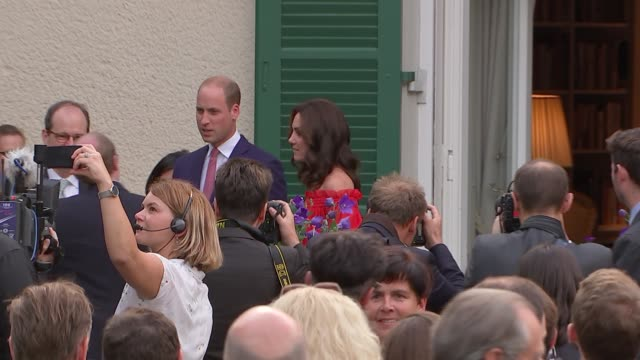 Duke and Duchess of Cambridge attend Queen's Birthday Garden Party GERMANY Berlin EXT Prince William and Catherine Duchess of Cambridge attend...