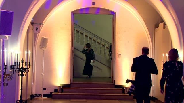 stockvideo's en b-roll-footage met duke and duchess of cambridge attend tusk conservation awards; england: london: westminster: banqueting house: int prince william, duke of cambridge... - kate silverton