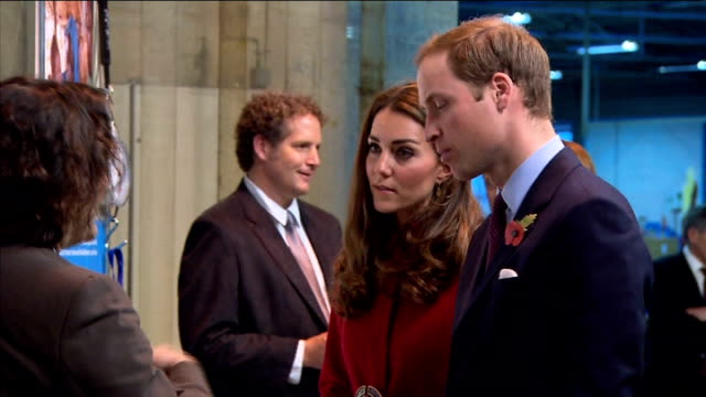 Duke and Duchess of Cambridge help with UN aid effort The Duke and Duchess of Cambridge The Crown Prince and Crown Princess of Denmark speaking to...
