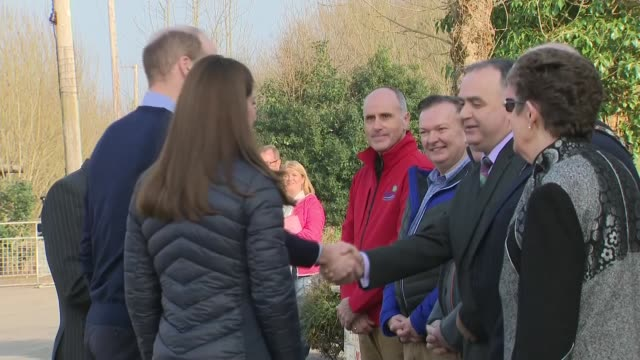 duke and duchess of cambridge in northern ireland visit outdoor pursuits centre in fermanagh part 1 northern ireland fermanagh roscor youth village... - duchess of cambridge stock videos and b-roll footage