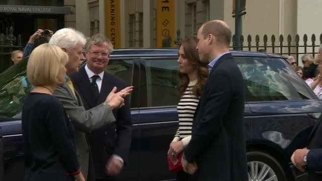 Duke and Duchess of Cambridge launch King's Cup competition ENGLAND London Greenwich EXT Prince William Duke of Cambridge and Catherine Duchess of...