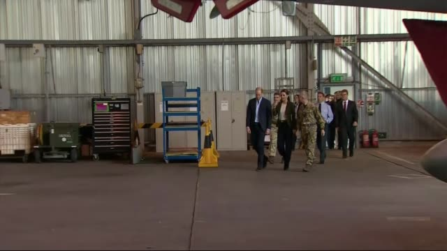 Duke and Duchess of Cambridge make Christmas visit to British troops CYPRUS The Duke and Duchess of Cambridge meet service personnel during visit to...