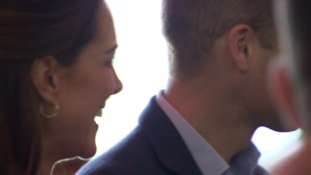 Duke and Duchess of Cambridge make Christmas visit to British troops Arrival CYPRUS RAF Akrotiri INT Prince William Duke of Cambridge and Catherine...