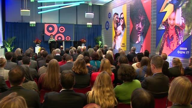 Duke and Duchess of Cambridge visit BBC ENGLAND London BBC Broadcasting House Alice Webb speech SOT